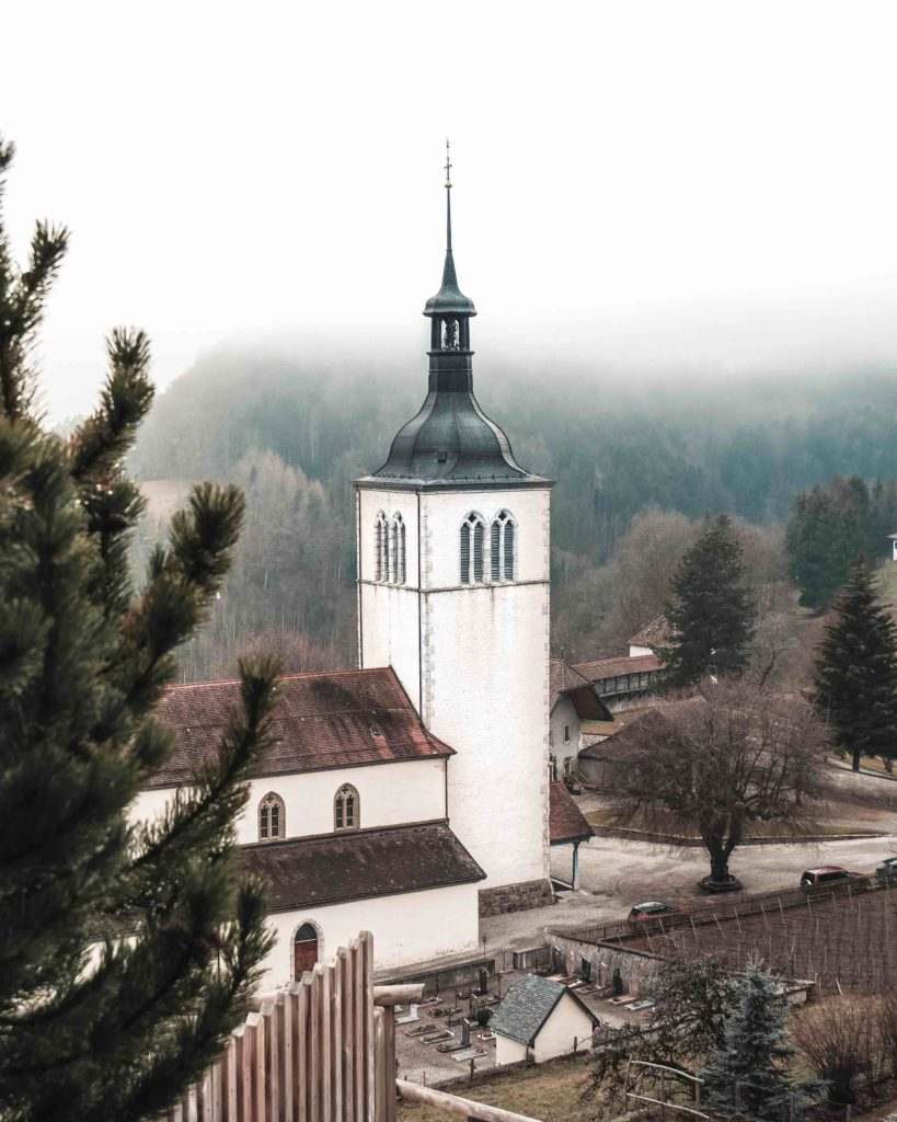 Eglise Saint-Théodule Gruyère Suisse
