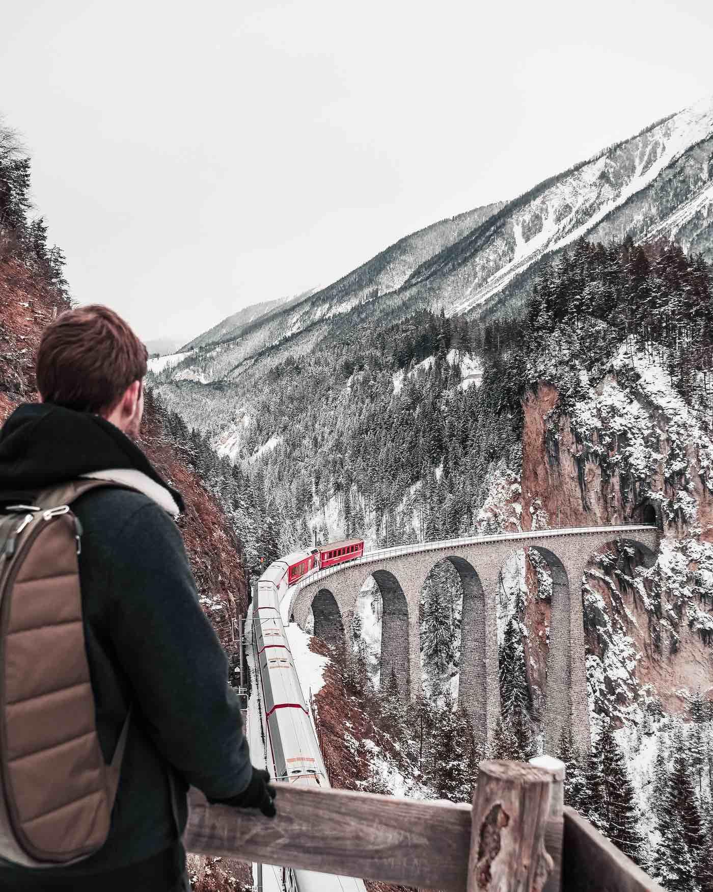 Viaduc de Landwasser Suisse
