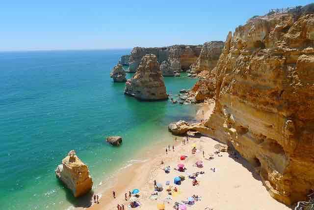 La région d'Algarve photo