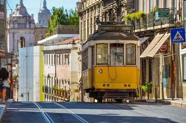 Tramway Lisbonne photo