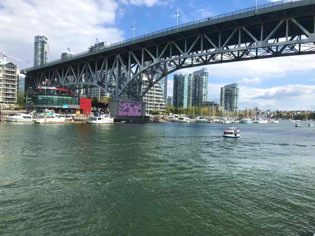 Visite Vancouver Vue de False Creek et downtown Vancouver