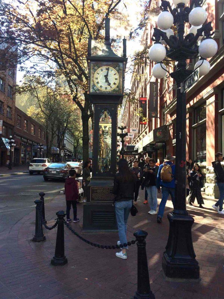 L'horloge à vapeur de Gastown Vancouver Canada