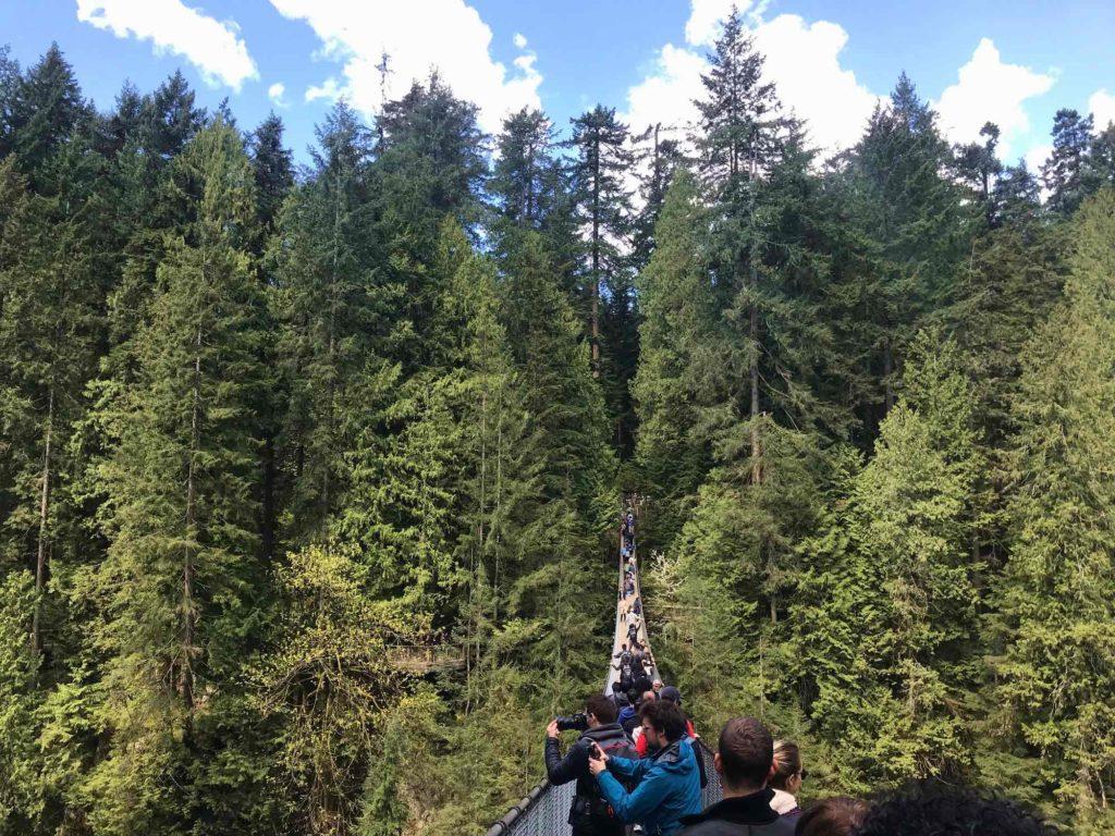 Photo Pont suspendu de Capilano Park Vancouver Canada