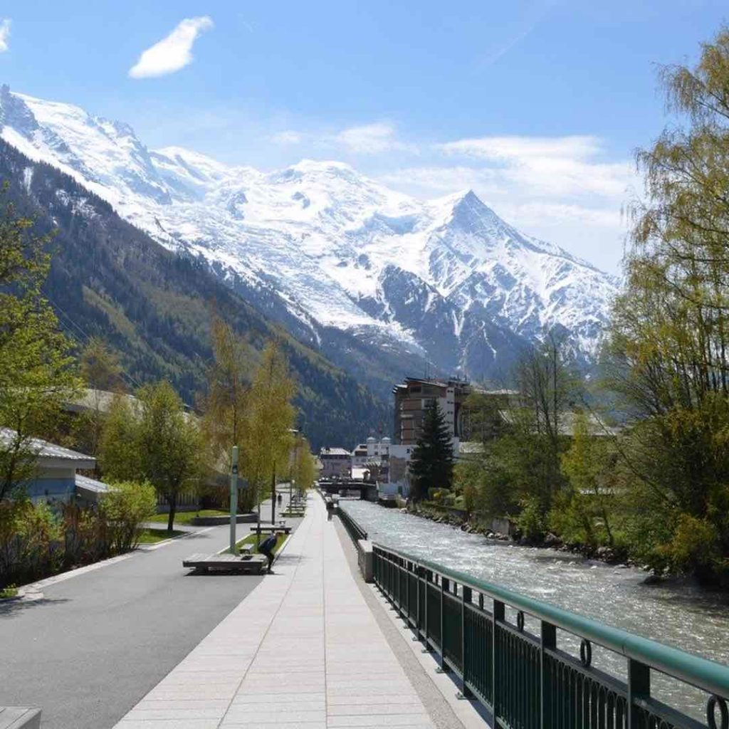 Chamonix photo promenade