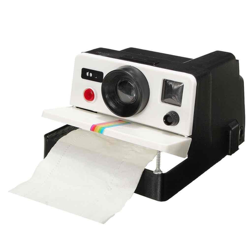 Distributeur papier toilette Polaroid