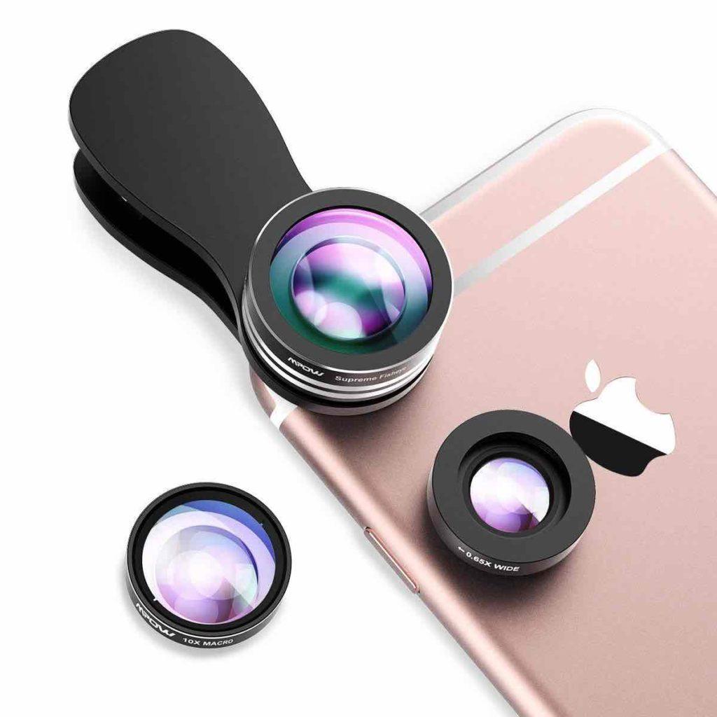 Objectif prendre photo avec smartphone idée cadeau