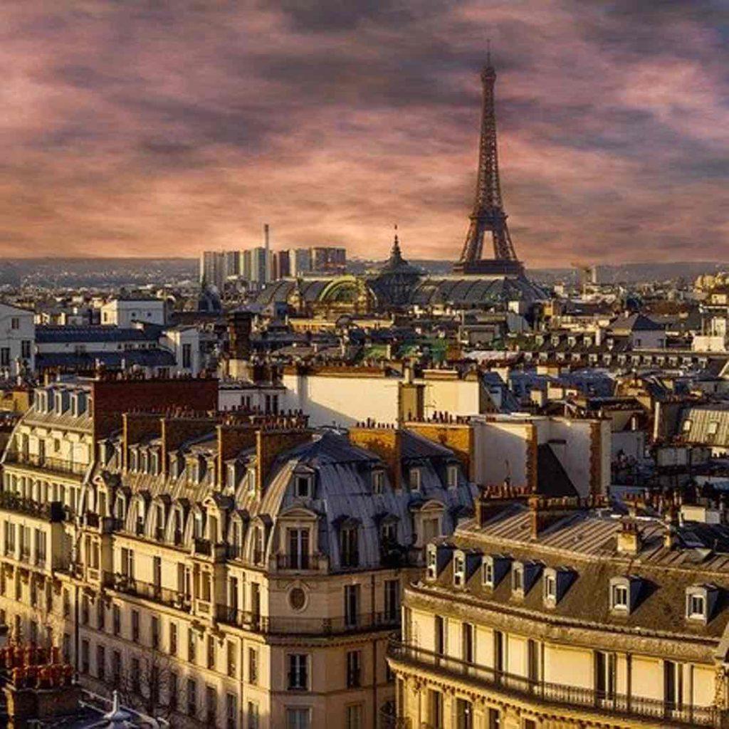 Paris week end amoureux