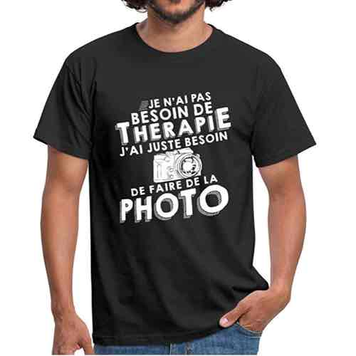 T shirt photographe