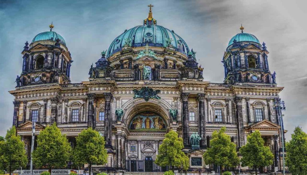 Photo de la cathédrale de Berlin Berliner Dom en Allemagne