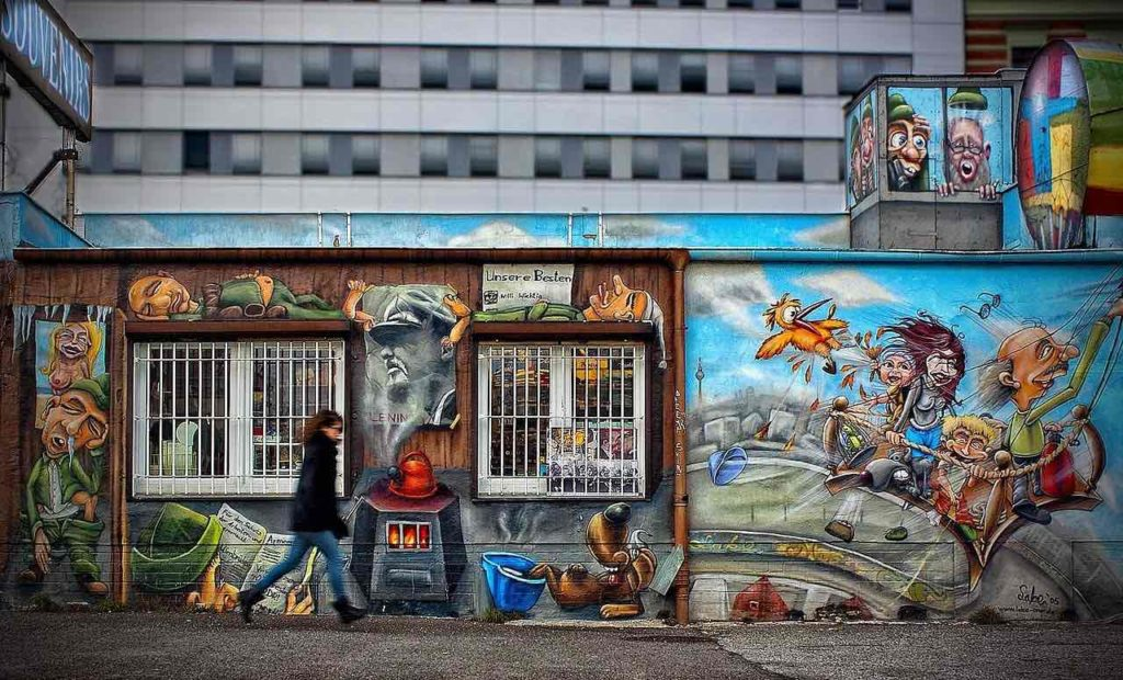 Photo East Side Gallery Mur Berlin