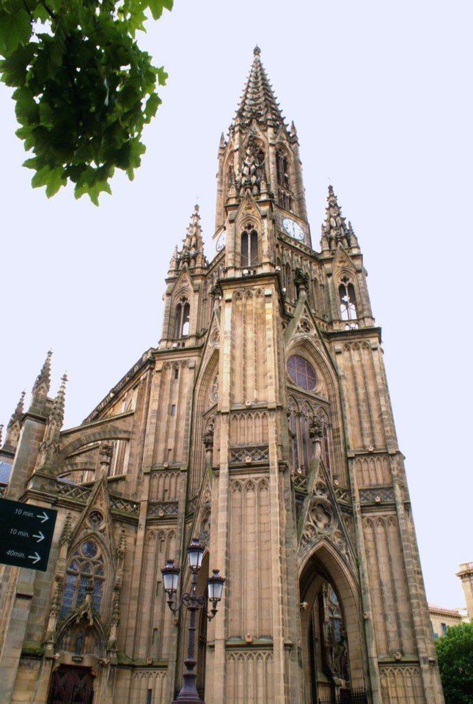 Cathédrale bon pasteur San sébastian visite guide