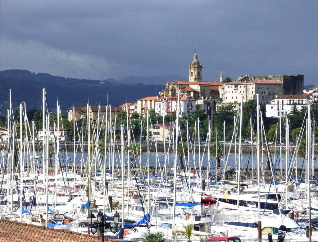 Visiter Fontarrabie Pays basque espagnol itinéraire