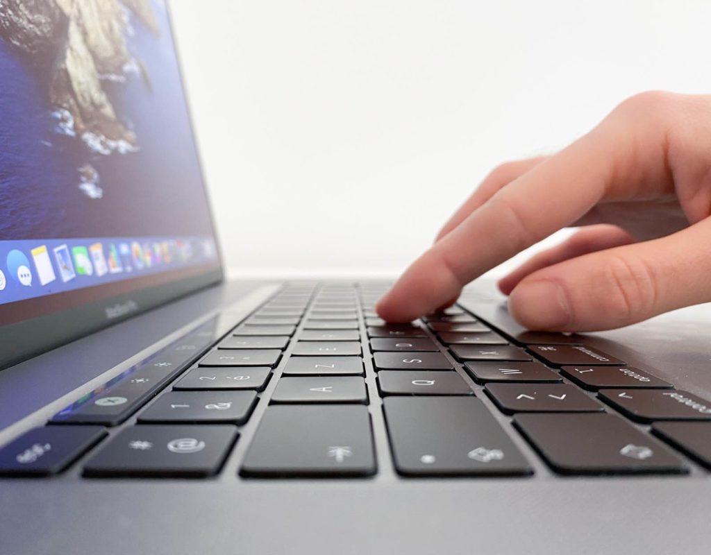 Clavier du MacBook Pro 16 pouces