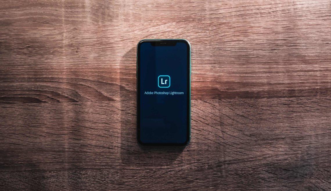 Créer preset sur Lightroom Mobile