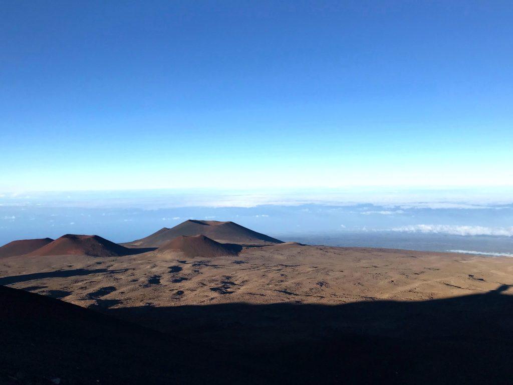 Mauna Kea volcan Hawaii Big Island