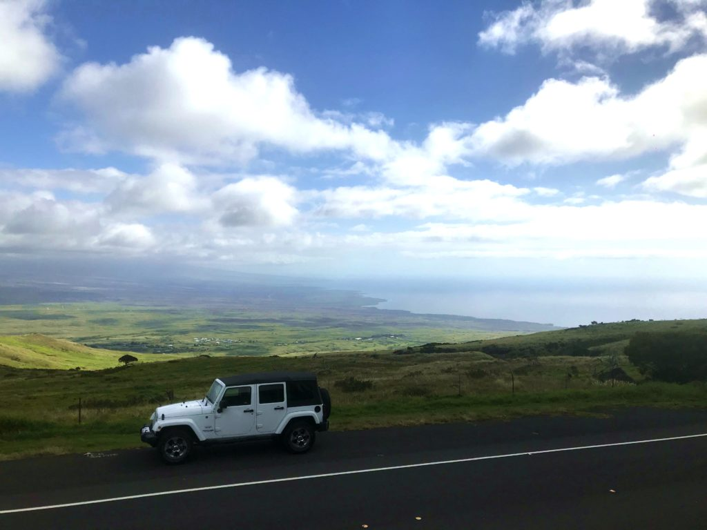 Paysage Waimea Hawaii Big Island