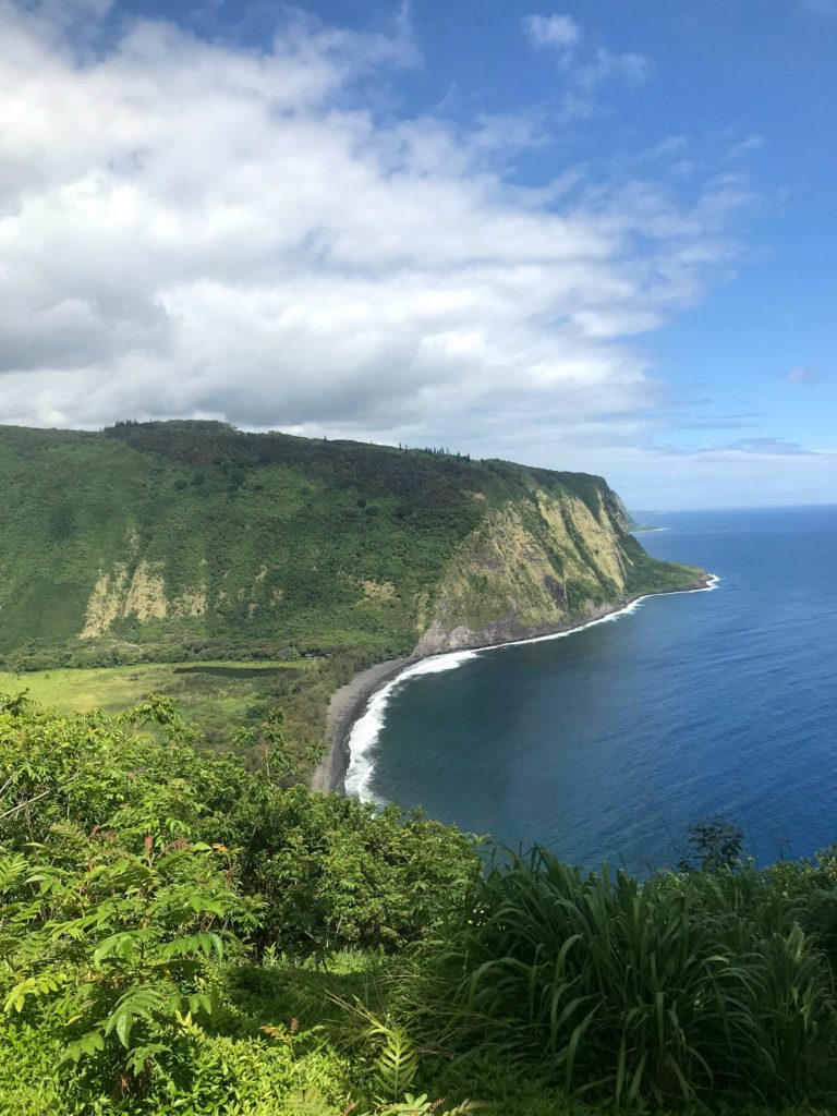 Pololu Valley Big Island paysage