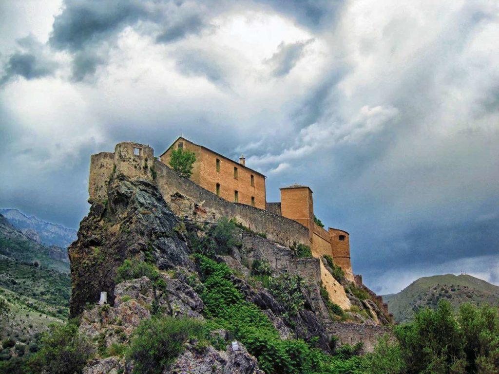 citadelle de corte road trip Corse