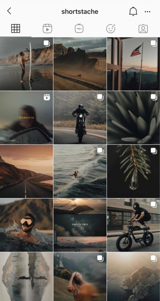 Joli feed Instagram