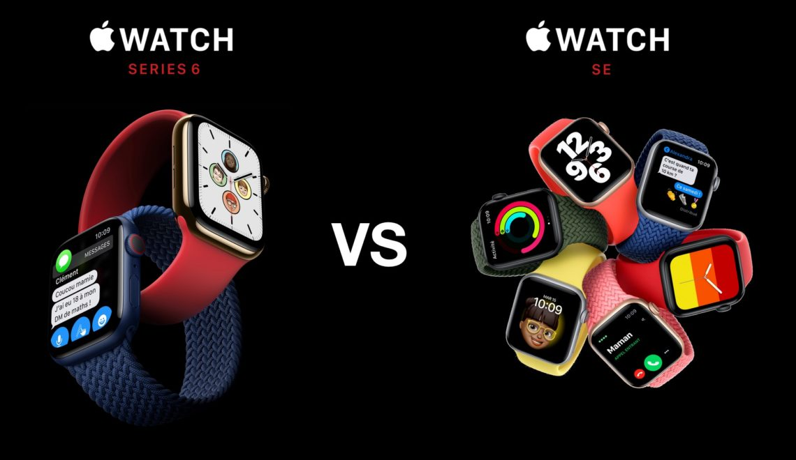 Apple Watch SE ou Series 6