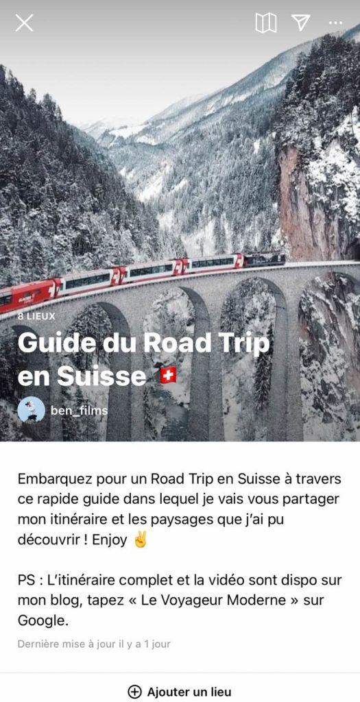 Idées Instagram Guides