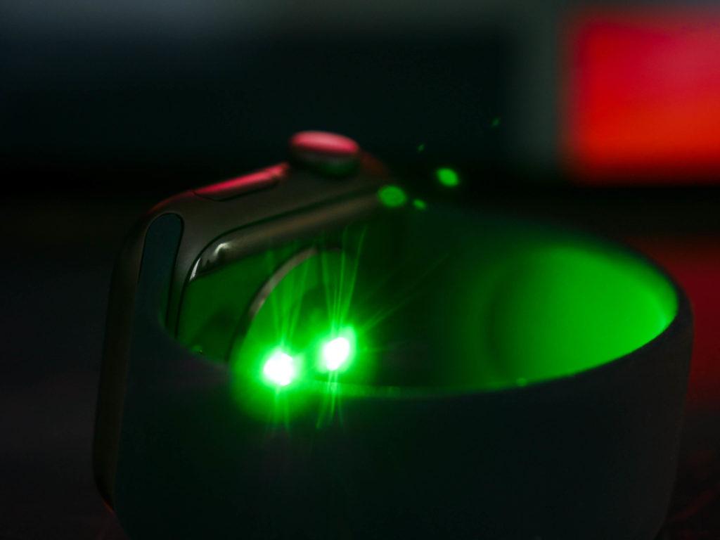 Capteur cardiaque de l'Apple Watch Series 6