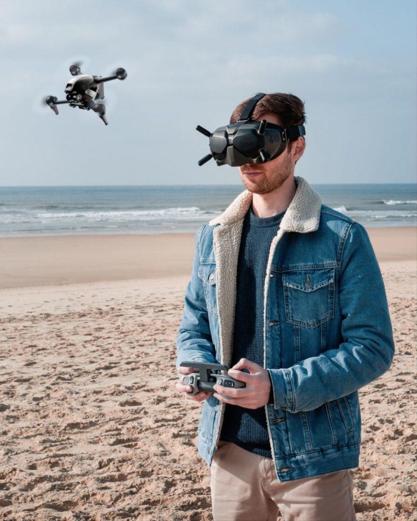 Avis test drone FPV DJI