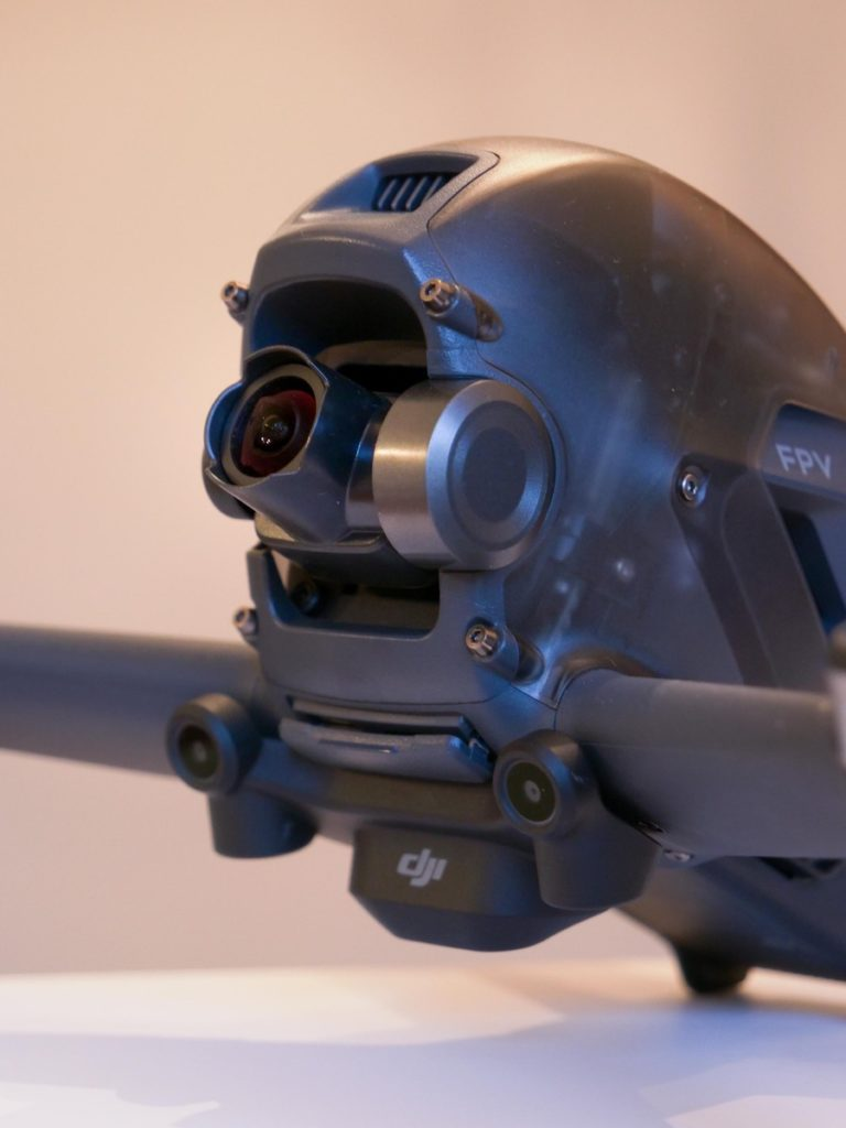 Caméra du drone DJI FPV