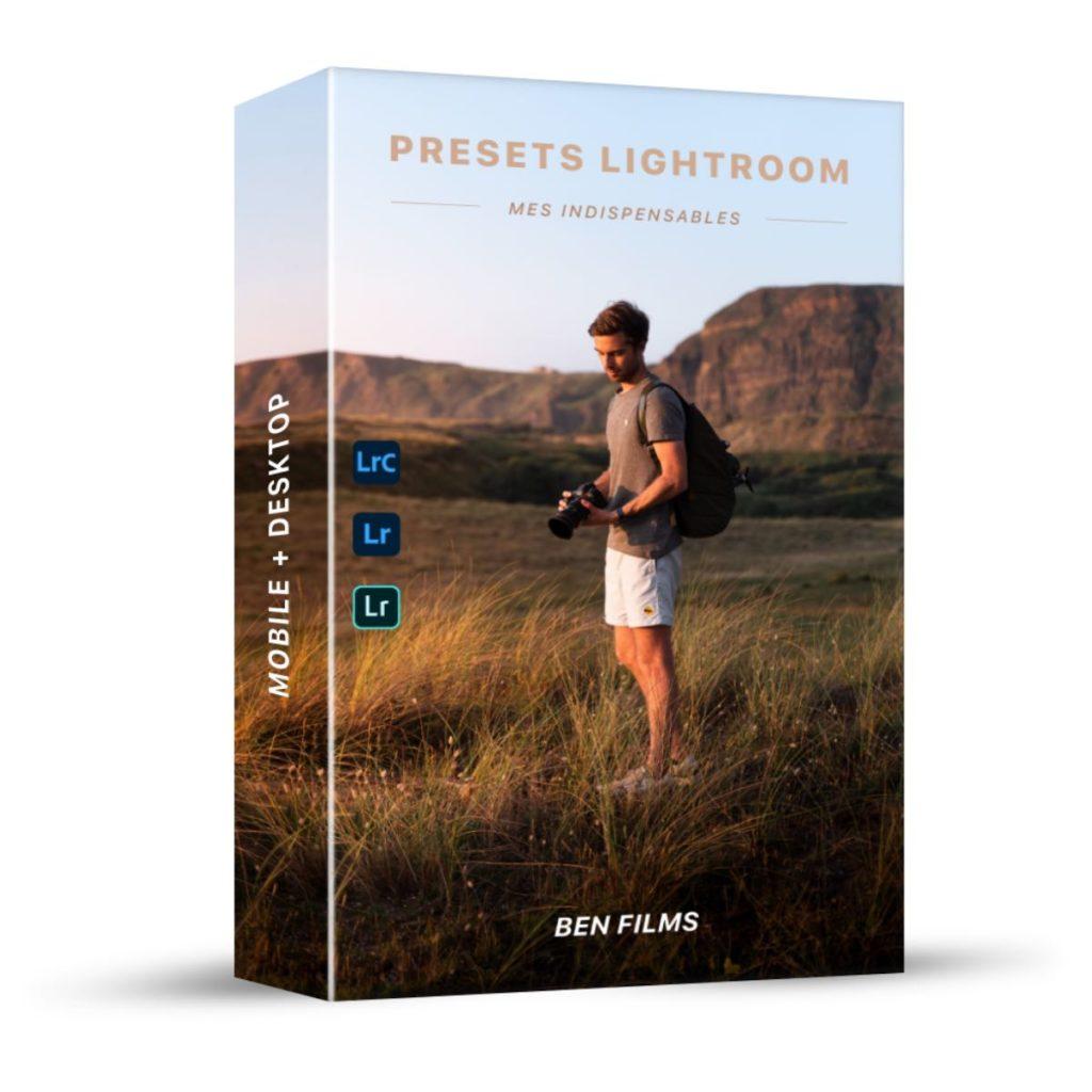Pack Presets Lightroom voyage paysage
