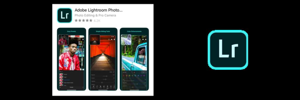 application Lightroom Mobile